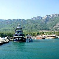 Путешествие на яхте :: Екатерина Овсянникова