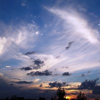 Небесная феерия :: Самохвалова Зинаида