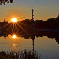 Закат в Екатерининском парке :: Наталья Левина