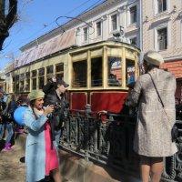 Старый трамвай. :: ИРЭН@ .