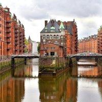 Район Шпайхерштадт в Гамбурге :: Денис Кораблёв