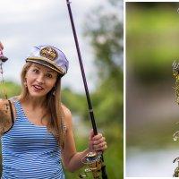 рыбачка Оля :: Татьяна Исаева-Каштанова