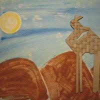 картина из песка :: Валерий A.