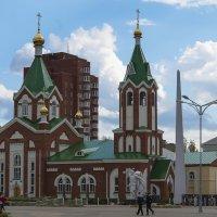 Церковь Спаса Преображения на площади Свободы г. Глазова :: Владимир Максимов