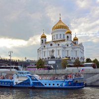 Москва с борта теплохода. :: Oleg4618 Шутченко