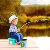 маленький рыбачок ) :: Ирина Кудряшова