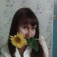 Мы с подсолнухом :: Татьяна Коблова
