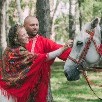 Аксиния и Алексей :: Екатерина Сагалаева