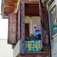 Андрей Минченков - Пожилая турчанка в окне