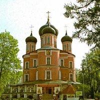 Храм в Донском монастыре :: Борис Александрович Яковлев