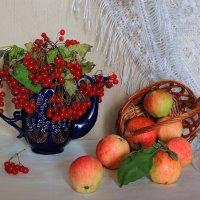 С калиной и яблоками :: Павлова Татьяна Павлова