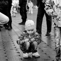 Маленький человечек. :: Алексей Хаустов