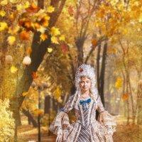 Барышня Осень :: Виктор Седов