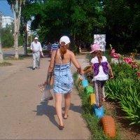 С колеса на колесо :: Нина Корешкова
