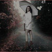 «Город встречает тебя дождем...» :: Angelina Ya