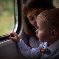 Никита и поезд :: Наталия Кошечкина