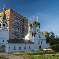 Прогулка по Нижнему. Церковь  Успения Божией Матери. :: Андрей Ванин
