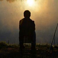Рыбалка на рассвете :: Борис Русаков
