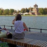Храм, Тро́ицы Живонача́льной, Москва и её жители :: Natalia Mihailova