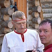 1000-летие Старой Руссы. А может глотнёшь, полегчает. :: Sergey Serebrykov