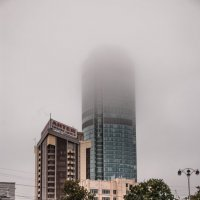 Рассекая облака, Бизнес-центр Высоцкий (188,3 м, 54 этажа) :: Михаил Вандич