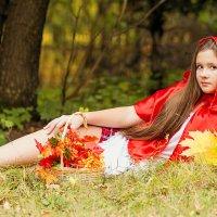 Гламурная Красная Шапочка. :: Наталья Малкина
