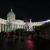 У Казанского собора зимой :: Вера Щукина