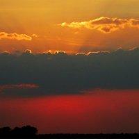 Степной закат... :: евгения