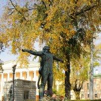 Осень на Страстном Бульваре***. :: Александр Борисович Панченко