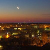 Над городом спустилась ночь :: Наталия Рискина