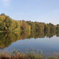 Панорама Рюминского пруда в Рязани :: Александр Буянов