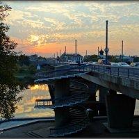 Ольгинский мост...закат :: Fededuard Винтанюк