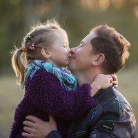 Папа с доченькой :: Павел Федоров