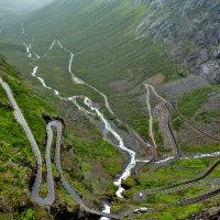 Норвегия, дорога тролей :: Ольга Маркова