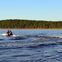 Следы на воде :: Ольга