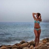 Девушка на море :: Сергей