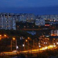 Ночной город. :: Андрей Кулешов