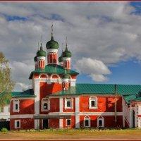 Церковь Иконы Божией Матери Смоленская в Богоявленском Угличском монастыре, 1689-1700 :: Дмитрий Анцыферов