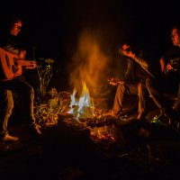 посиделки у огня :: Андрей Афонасьев
