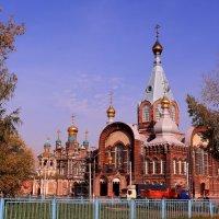 Купола под сентябрьским небом :: Татьяна Ломтева