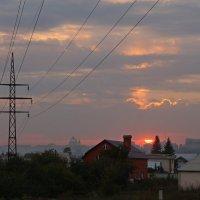..закат в городе.. :: Александр Герасенков