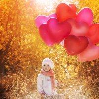 На воздушном шаре :: L. Anna