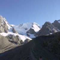 Прогулка в горах :: Сергей Лучкин