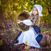 Золушка в осеннем лесу. :: Ольга Егорова