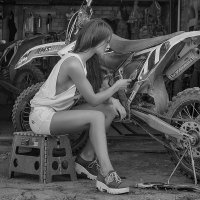«Любишь кататься – люби и саночки возить!» :: E.Balin Е.Балин