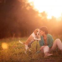 Девушка, в которую не возможно не влюбиться и ее собака :: Лера Динабург