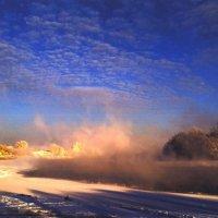 Зимние утро на Москве-реке :: Борис Александрович Яковлев