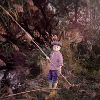 Маленький рыбак :: Ольга Егорова