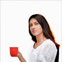 Девушка с чашкой :: Валентина Белоусова
