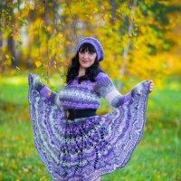 Женщина-осень.... :: игорь козельцев